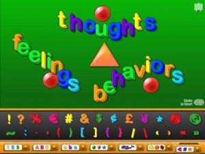 cbt letters shapes